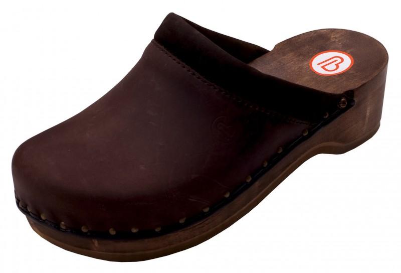 berkemann clog soft toeffler braun leder gr 2 5 13. Black Bedroom Furniture Sets. Home Design Ideas